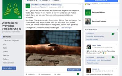 Kundendialoge über 230 Facebook-Auftritte führen