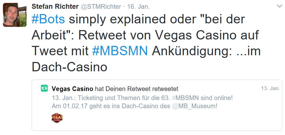 Retweet #MBSMN: Social Bot