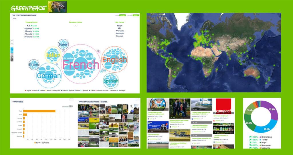 Command Center Greenpeace