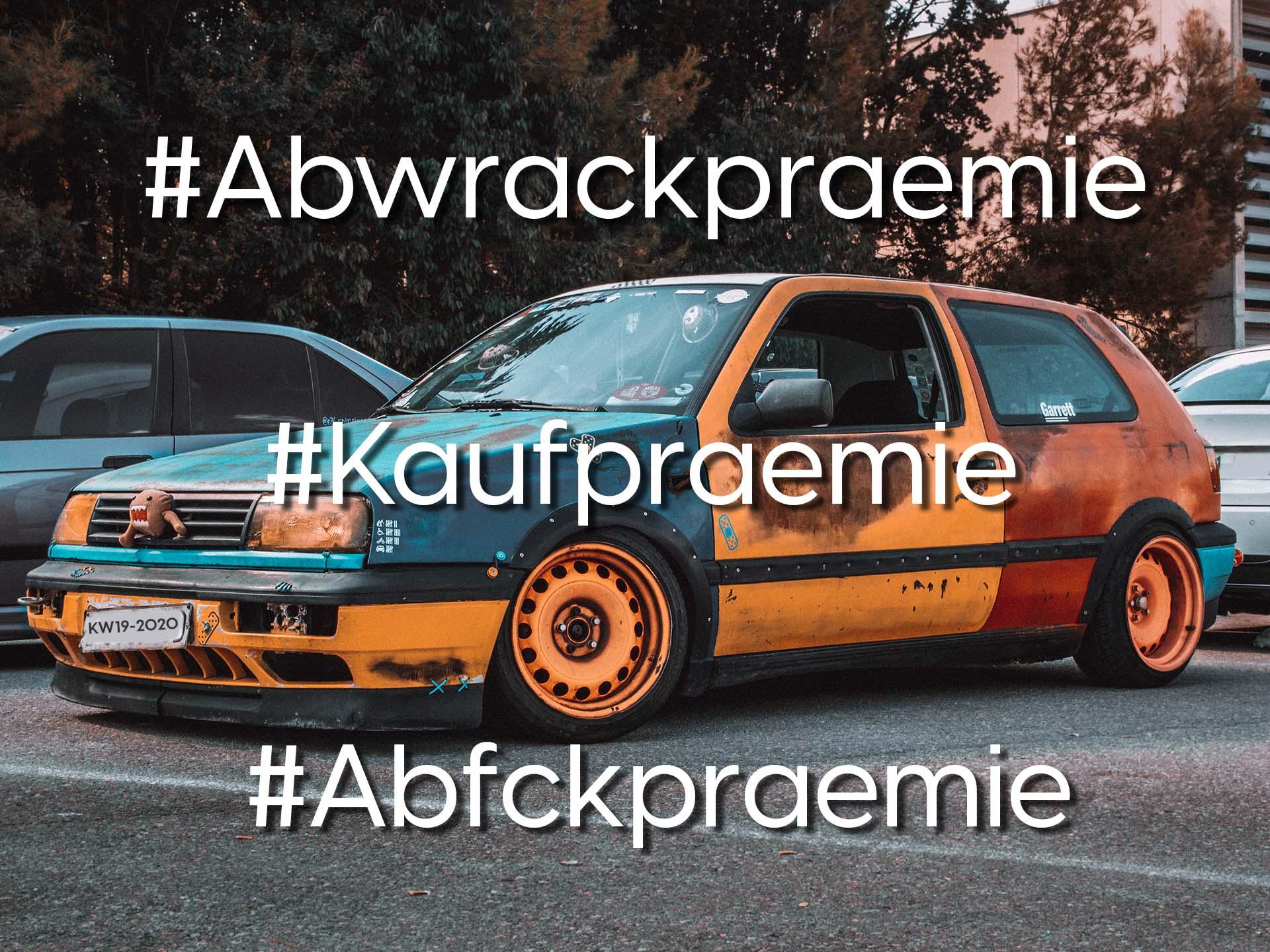 Social Media Thema der Woche: KW 19 – Soll es wieder #Abwrackpraemie geben?