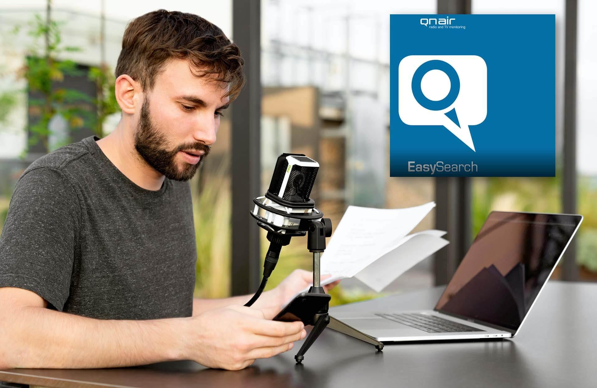 Radio-, TV und Podcast-Monitoring